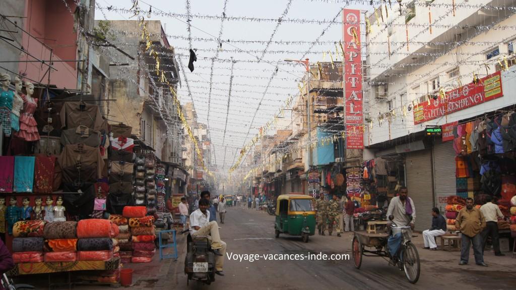 Pahar Ganj dans main bazar (New Delhi)