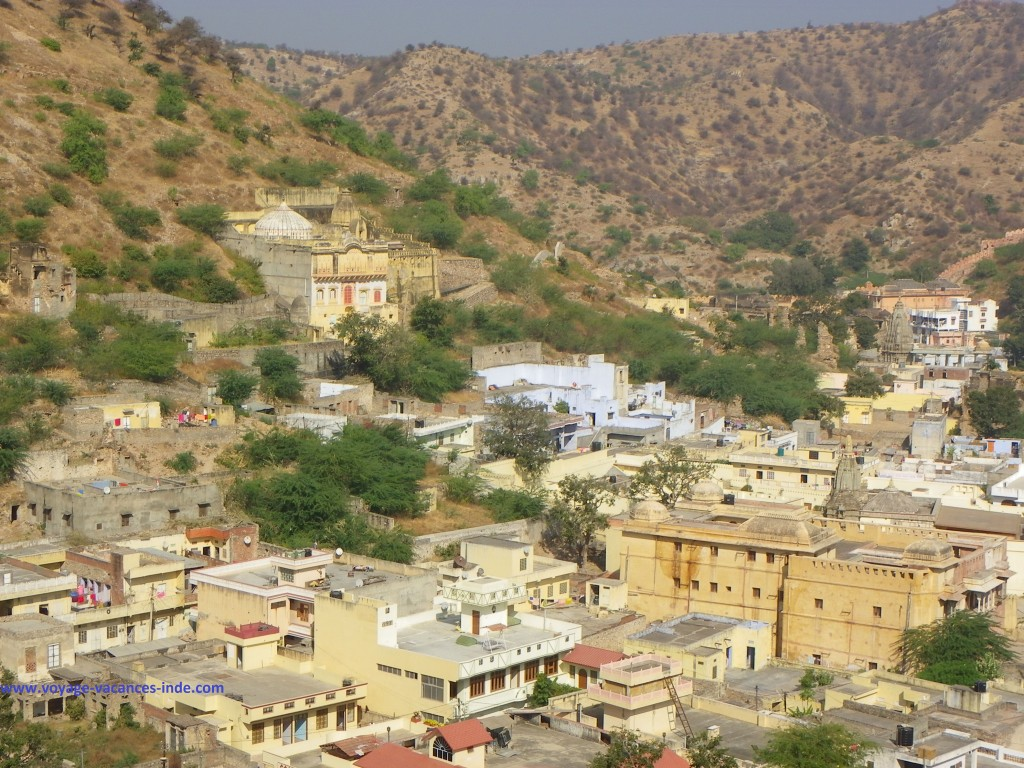 La ville d'Amber vue du fort