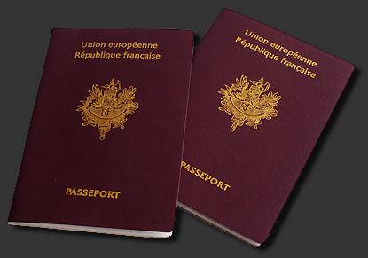 passeport république française